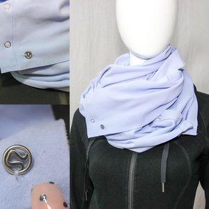 lululemon vinyasa scarf lavender dusk